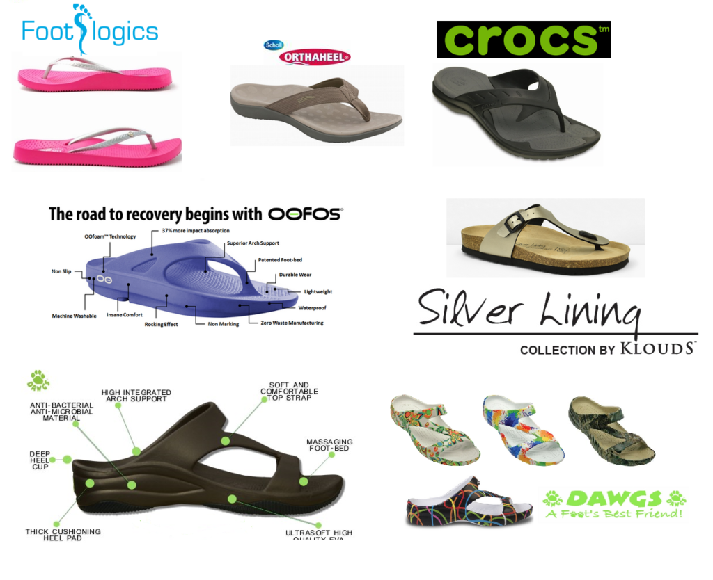 arch support thongs